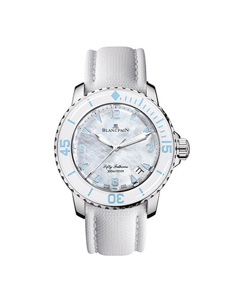 BLANCPAIN FIFTY FATHOMS AUTOMATIC 45MM LADIES WATCH REF. 5015A-1144-52A