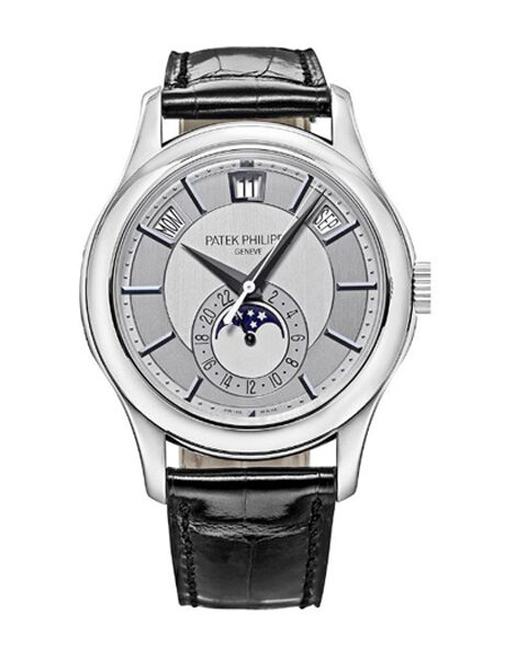 PATEK PHILIPPE ANNUAL CALENDAR WHITE GOLD MEN'S WATCH REF. 5205G-001