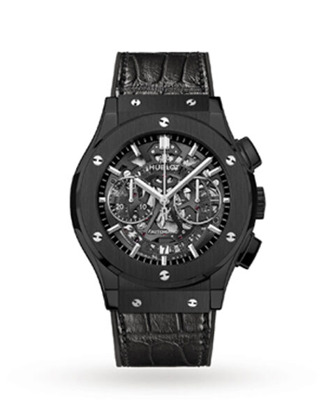 HUBLOT CLASSIC FUSION AEROFUSION CHRONOGRAPH 45MM MEN'S WATCH REF. 525.CM.0170.LR