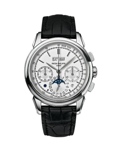 PATEK PHILIPPE  ​PERPETUAL CALENDAR CHRONOGRAPH WHITE GOLD DOUBLE SEAL PATEK MEN'S WATCH REF. 5270G-013
