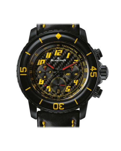 BLANCPAIN FIFTY FATHOMS SPEED COMMAND FLYBACK CHRONOGRAPH MENS WATCH REF. 5785F-11D03-63A