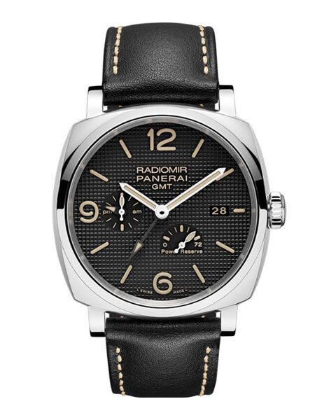 Panerai Pre-owned Radiomir GMT Power Reserve Automatic Men's Watch