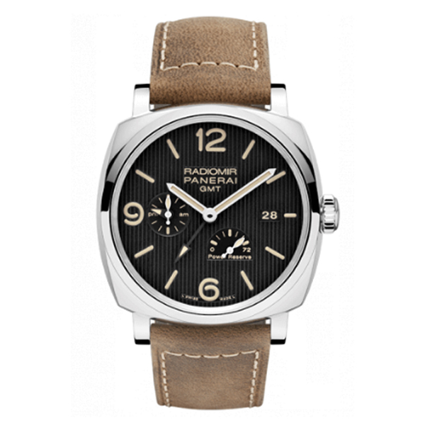 PANERAI RADIOMIR 1940 GMT AUTOMATIC POWER RESEVER MEN'S WATCH REF. PAM00658