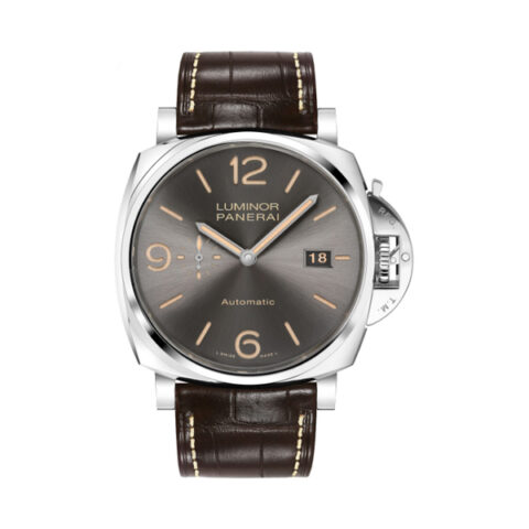 PANERAI LUMINOR 45MM AUTOMATIC GREY DIAL MEN'S WATCH REF. PAM00943