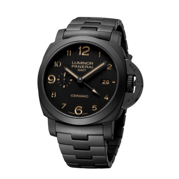PANERAI TUTTONERO LUMINOR GMT MEN'S WATCH REF. PAM01438