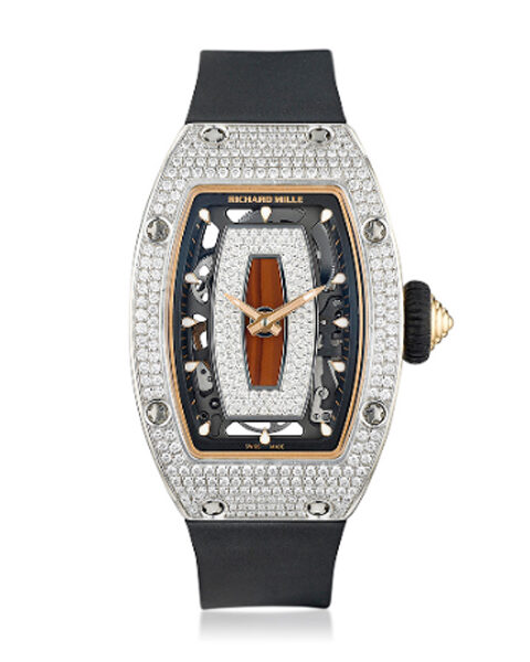 RICHARD MILLE 18K WHITE GOLD LADIES WATCH REF. RM-07