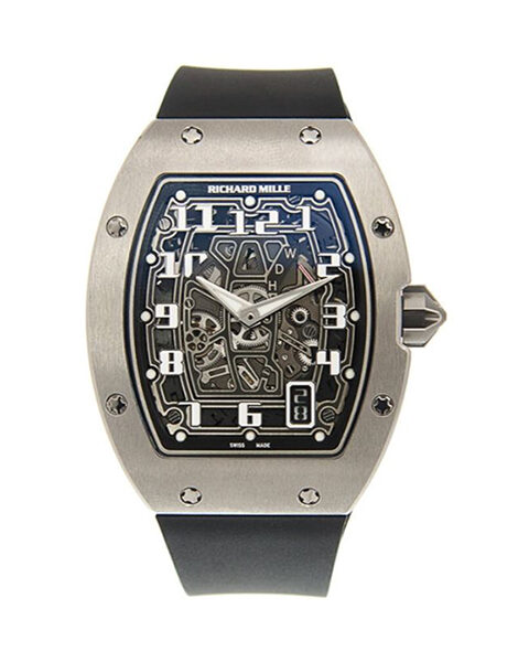 RICHARD MILLE EXTRA FLAT AUTOMATIC MEN'S WATCH REF. RM67-01 WG