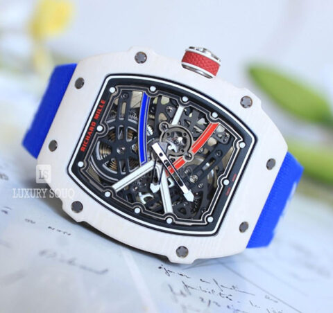 Richard Mille Pre-owned Rm 67-02 Extra Flat Alexis Pinturault Edition Men's Watch