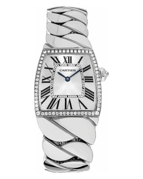 CARTIER LA DONA DE CARTIER WHITE GOLD 33MM LADIES WATCH REF. WE601005