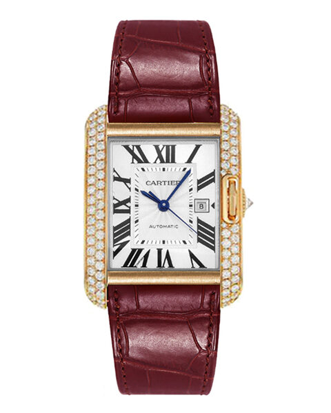 Cartier Pre-owned Tank Anglaise Ladies Watch