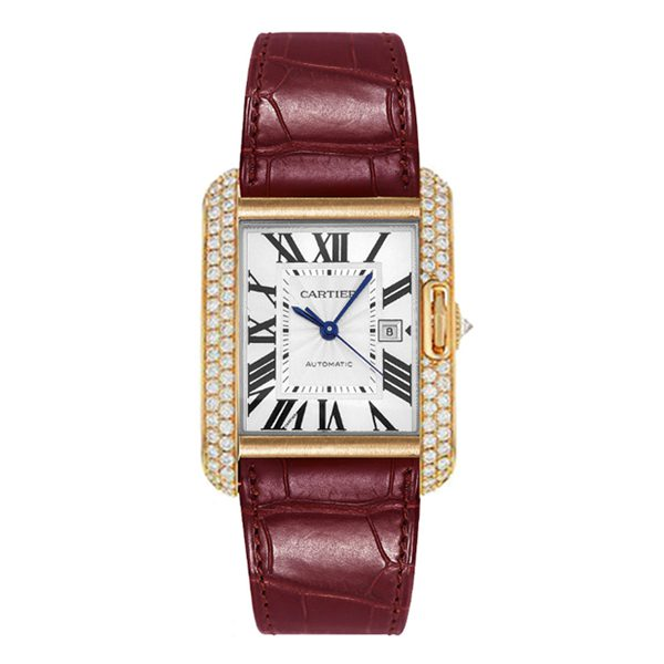CARTIER TANK ANGLAISE LADIES WATCH REF. WT100021