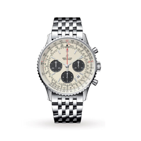 BREITLING NAVITIMER 1 B01 CHRONOGRAPH 43MM MEN'S WATCH REF. AB0121211G1A1