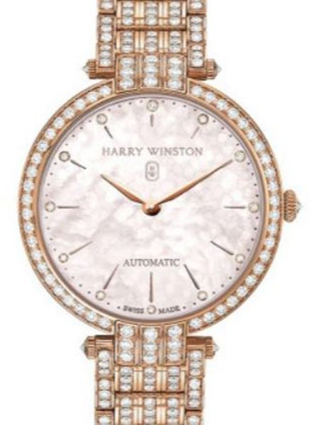 HARRY WINSTON PREMIER LADIES AUTOMATIC LADIES WATCH REF. PRNAHM36RR003