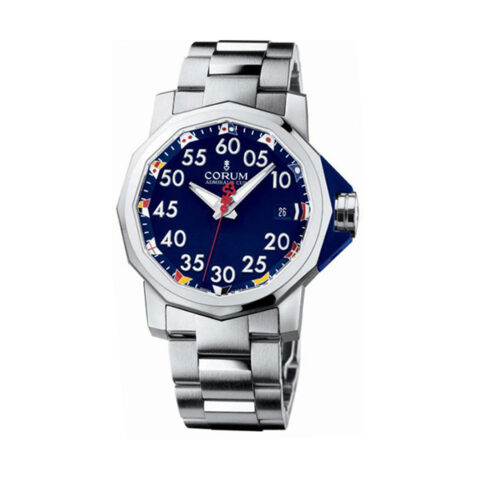 Corum Pre-Owned Admirals Cup Competition Stainless Steel Men's Watch