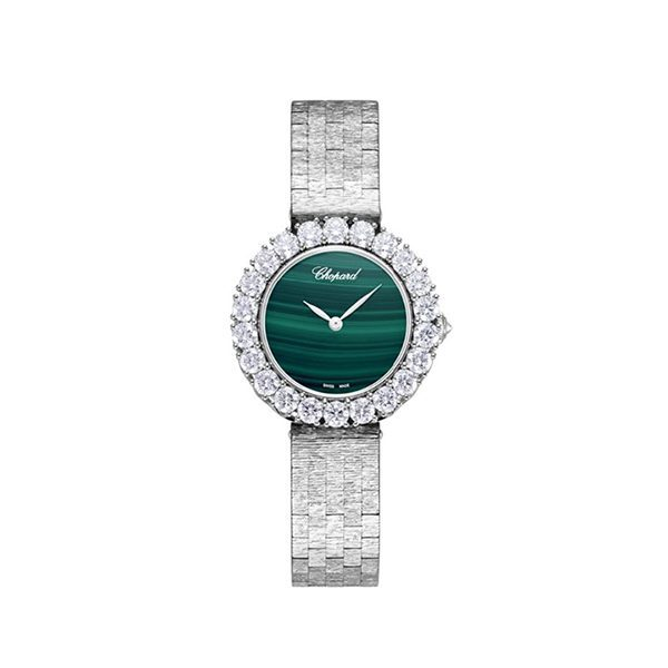 Chopard Pre-Owned L'Heure Du Diamant Round Automatic Ladies Watch