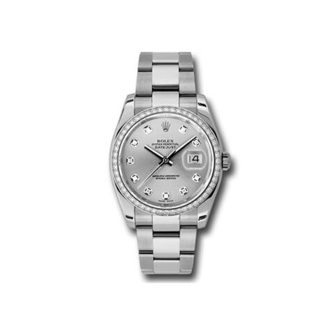 ROLEX OYSTER PERPETUAL DATEJUST 36 AUTOMATIC LADIES WATCH REF. 116244SDO