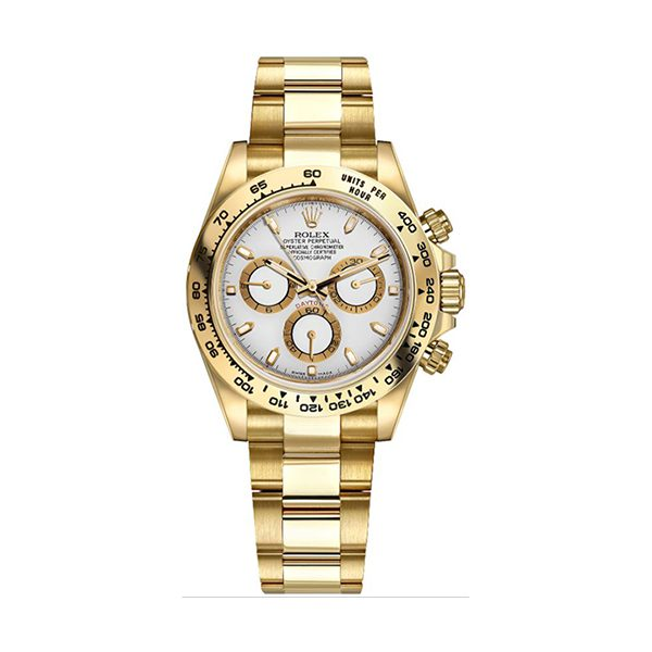 ROLEX Pre-Owned Cosmograph Daytona Yellow Gold Men's Watch