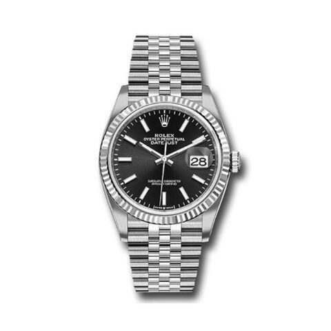 ROLEX Pre-Owned DateJust 36 Stainless Steel Men's Watch