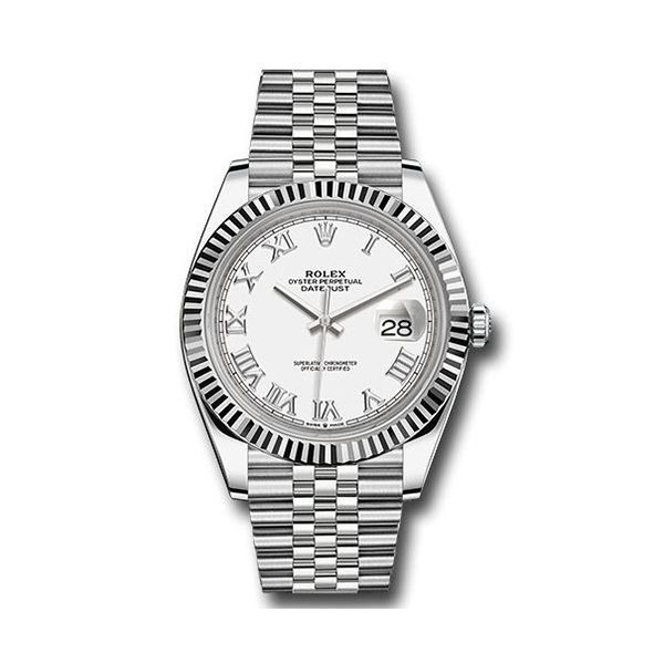ROLEX Pre-Owned Oyster Perpetual Datejust 41mm Stainless Steel Men's Watch