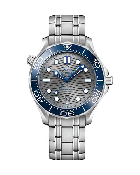 Omega Pre-Owned Seamaster Diver 300m Co-Axial Master Chronometer Mens Watch