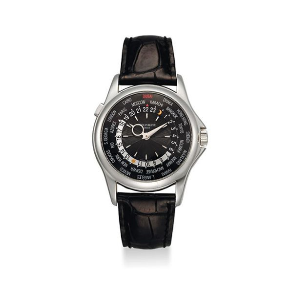 Patek Philippe Pre-Owned World Time Dubai Limited Edition Men's Watch