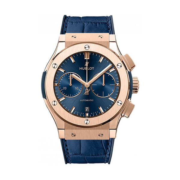 Hublot Pre-Owned Classic Fusion Chronograph King Gold 45mm Men's Watch