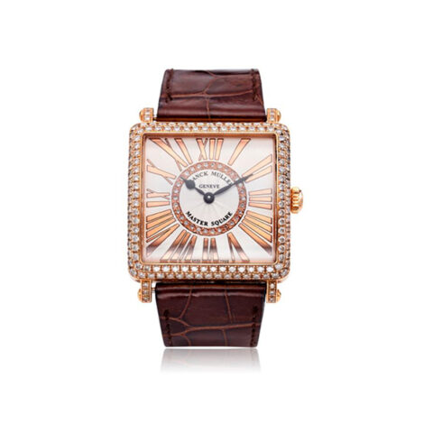 FRANCK MULLER MASTER SQUARE 32.4MM LADIES WATCH, REF. 6002 M QZ D CD 1R