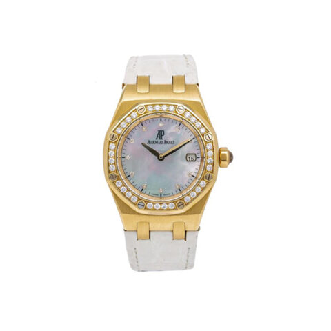 AUDEMARS PIGUET ROYAL OAK LADY MOTHER OF PEARL DIAL 33MM LADIES WATCH REF. 67601BA.ZZ.D012CR.03