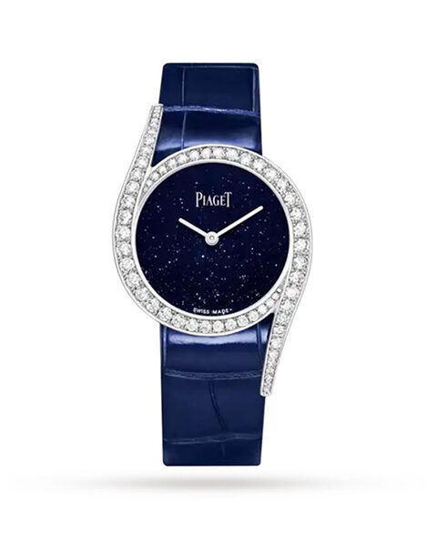 Piaget Pre-Owned Limelight Gala Quartz Blue Aventurine Dial Limited Edition Ladies Watch