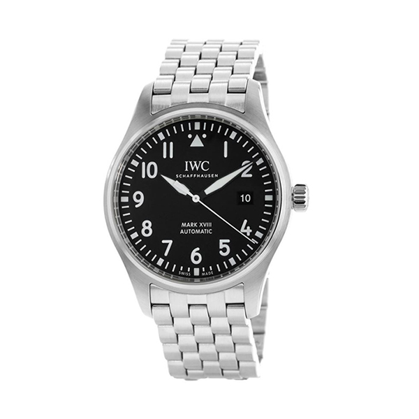 IWC Pre-Owned Pilot Mark XVII Automatic Black Dial Men's Watch