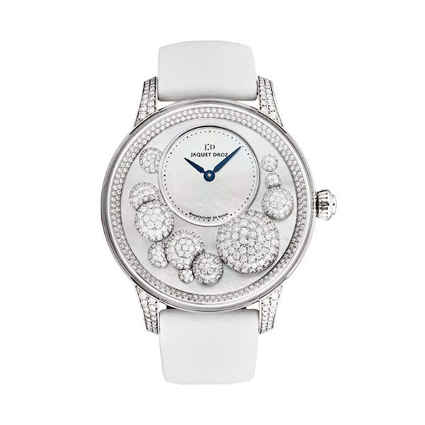 JAQUET-DROZ PETITE HEURE MINUTE CELESTE AUTOMATIC LADIES WATCH REF. J005024533