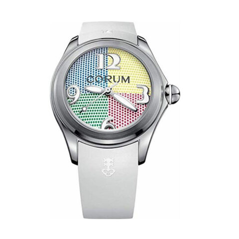 CORUM WATCH BUBBLE 4 COLOURS LIMITED EDITION 42MM WATCH REF. L082/03302