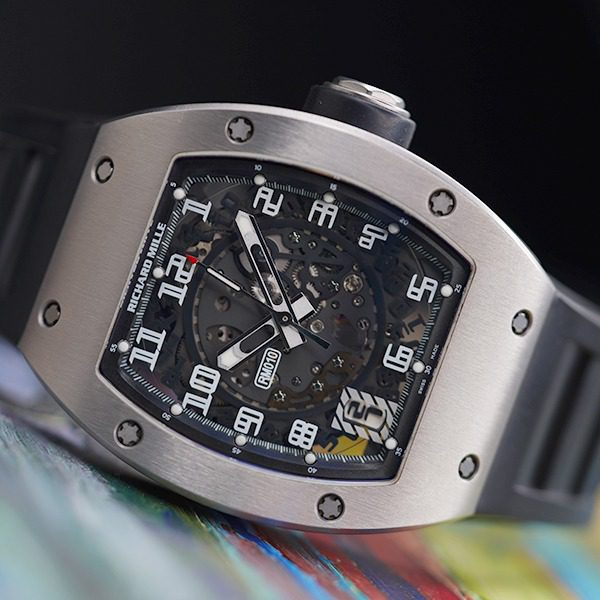 RICHARD MILLE AUTOMATIC WHITE GOLD SKELETON DIAL MEN'S WATCH REF. RM010 AI WG