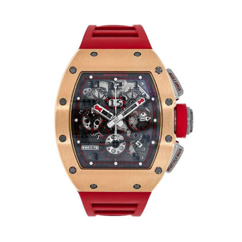 Richard Mille Pre-Owned Rm011 Red Demon Edition Limited 30 pcs Men's Watch