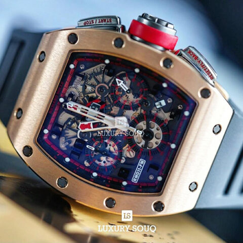 Richard Mille Pre-owned Rm011 Felipe Massa Red Kite Limited Edition 30 Men's Watch