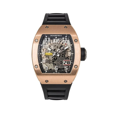 RICHARD MILLE RM029 AUTOMATIC BIG DATE SKELETON DIAL MEN'S WATCH REF. RM029-RG