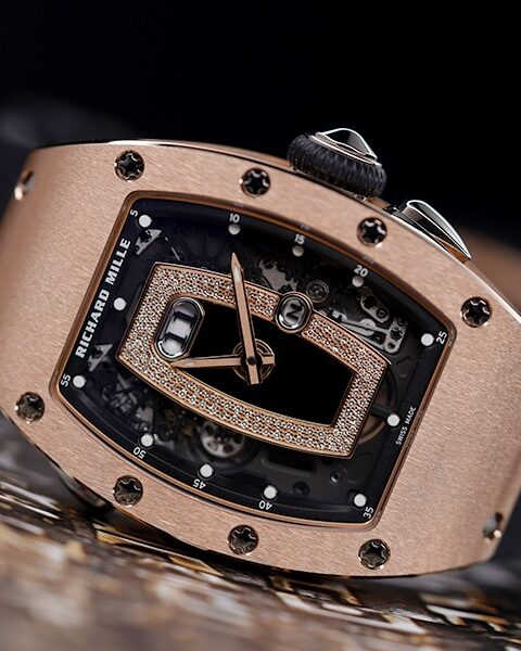 Richard Mille Pre-Owned RM037 Rose Gold Ladies Watch