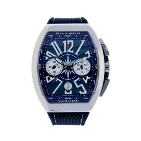 Franck Muller Pre-Owned Vanguard Automatic Yachting Men's Watch