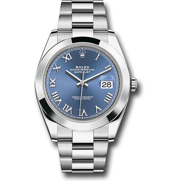 Rolex Pre-owned Oyster Perpetual Datejust 41mm Men's Watch