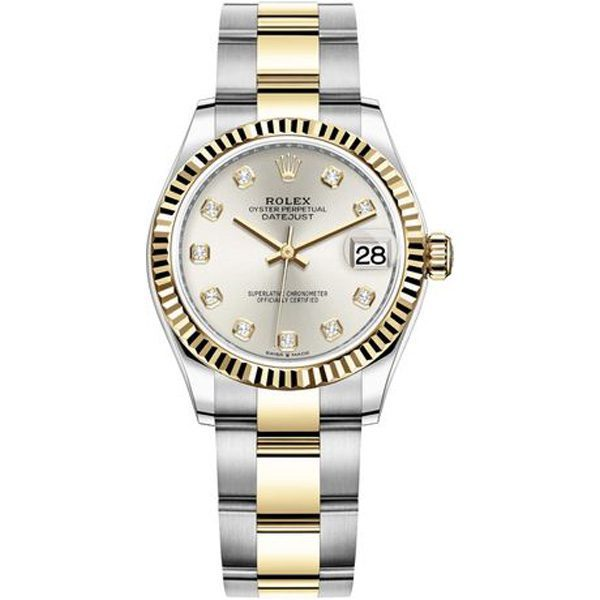 Rolex Pre-owned Oyster Perpetual Datejust 31mm Men's Watch