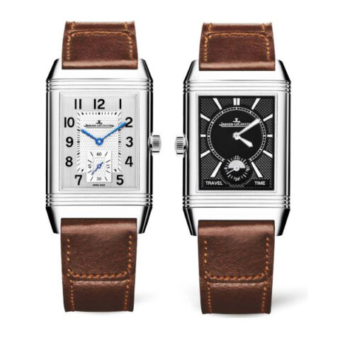 Jaeger-LeCoultre Pre-owned Reverso Classic Large Duoface Small Seconds