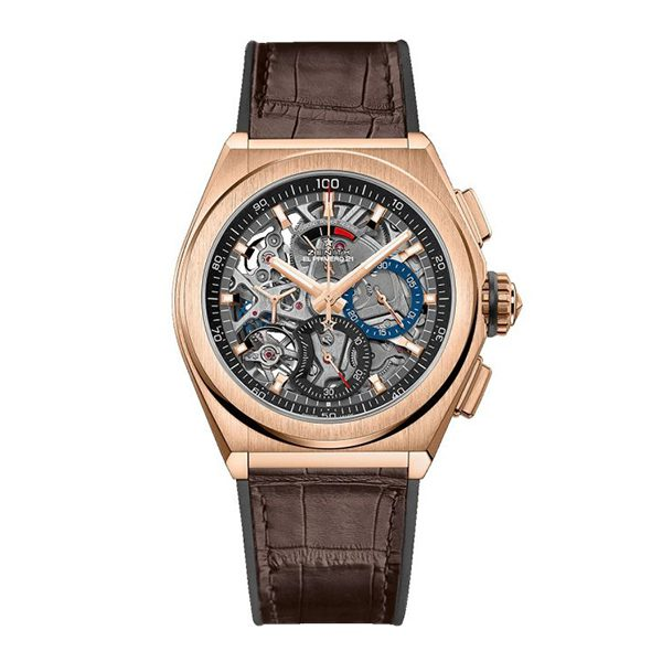 Zenith Pre-Owned Defy El Primero 21 Rose Gold Automatic 44mm Watch