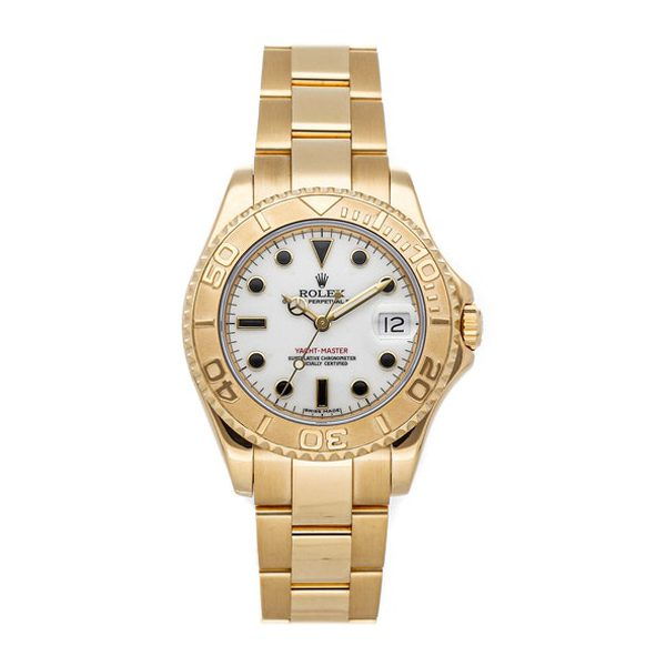 Rolex Oyster Perpetual Date Yacht-master 35mm Men's Watch