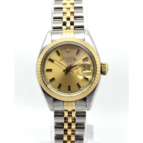 Rolex Oyster Perpetual Date Two Tone Ladies' Watch