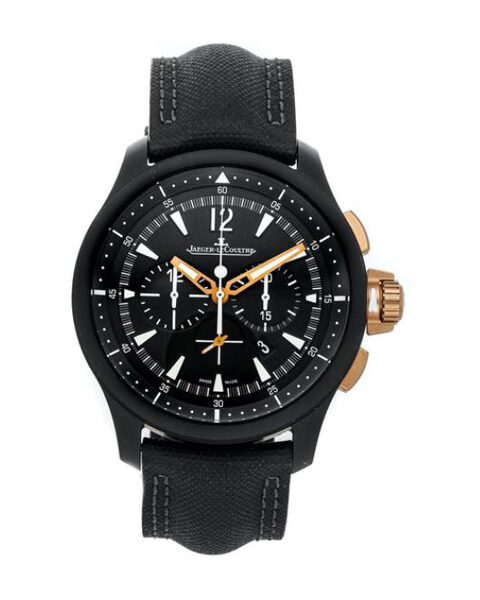 Jaeger LeCoultre Pre-owned Master Compressor Chronograph Ceramic Mens Watch