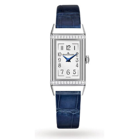 Jaeger LeCoultre Pre-owned Reverso Diamond Ladies Watch