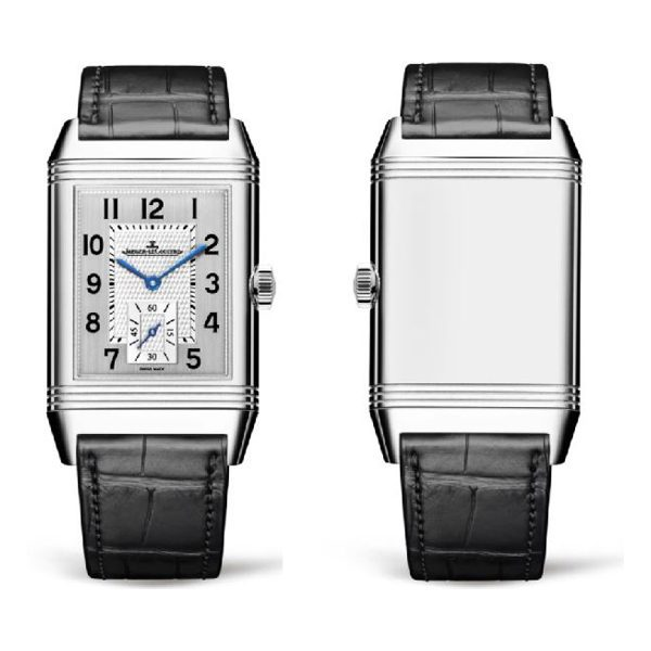 Jaeger LeCoultre Pre-owned Reverso Classic Large Small Seconds Hand Wound Men's Watch