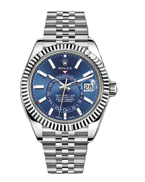 Rolex Pre-owned Sky-dweller Oyster Perpetual 42mm Men's Watch