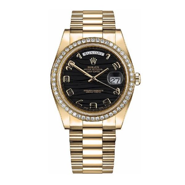 Rolex Pre-owned Day-Date 41 Solid Gold Men's Watch