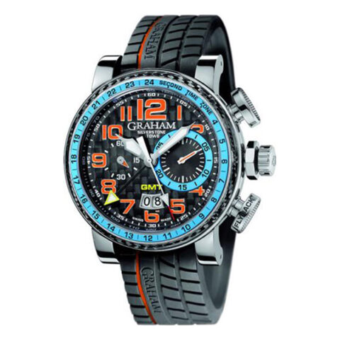 Graham Pre-owned Grand Silverstone Stowe Racing GMT Men's Watch